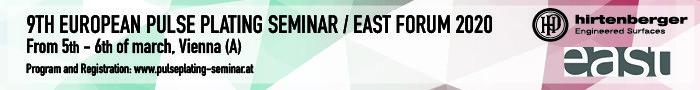 Europäisches Pulse Plating Seminar